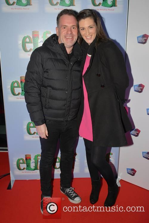 Chris Moyles and Suzanne Kane