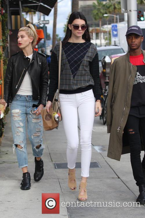 Kendall Jenner, Hailey Baldwin and Shamari Maurice 8