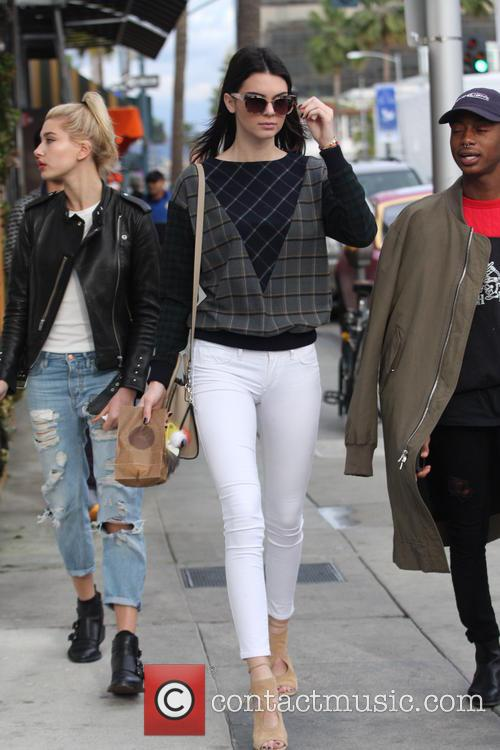 Kendall Jenner, Hailey Baldwin and Shamari Maurice 10