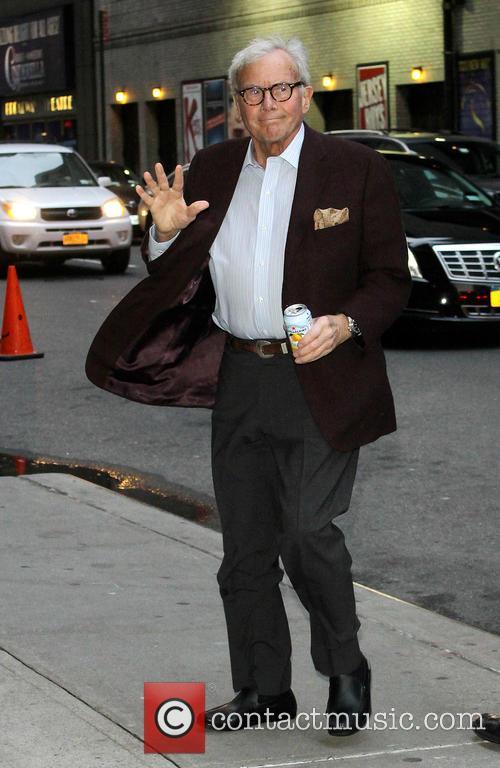 David Letterman and Tom Brokaw 2