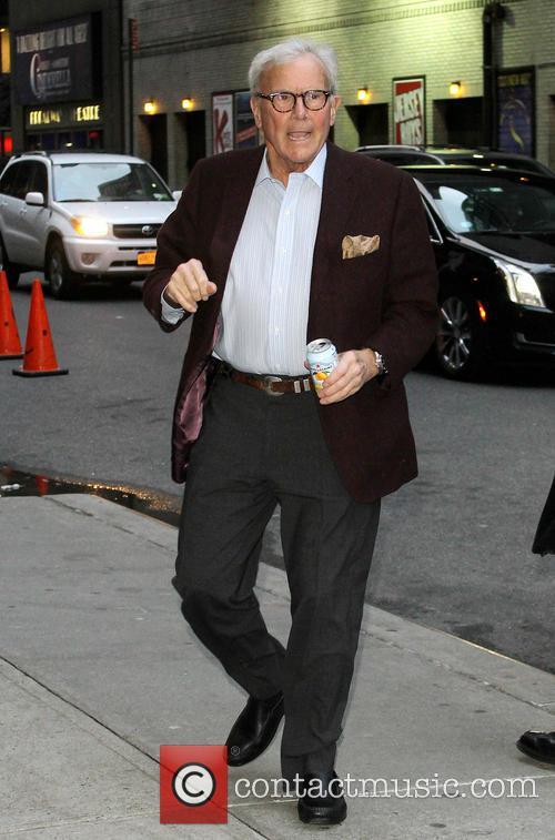 David Letterman and Tom Brokaw 5