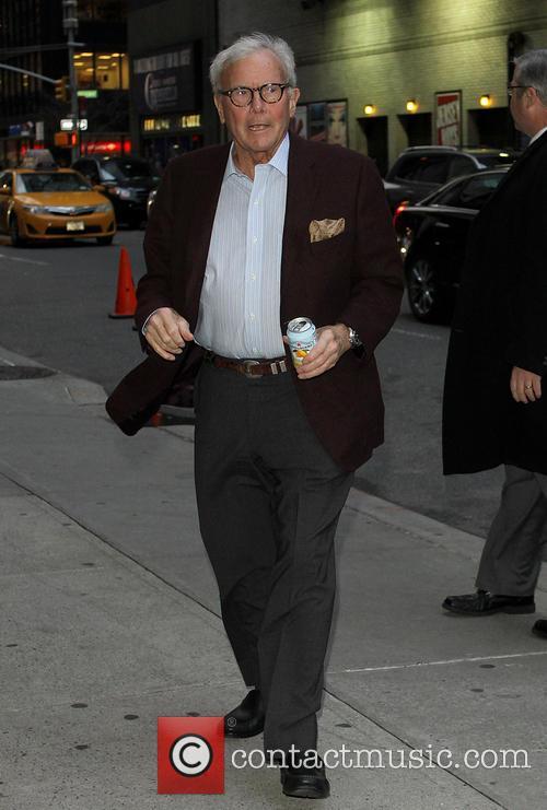 David Letterman and Tom Brokaw 7