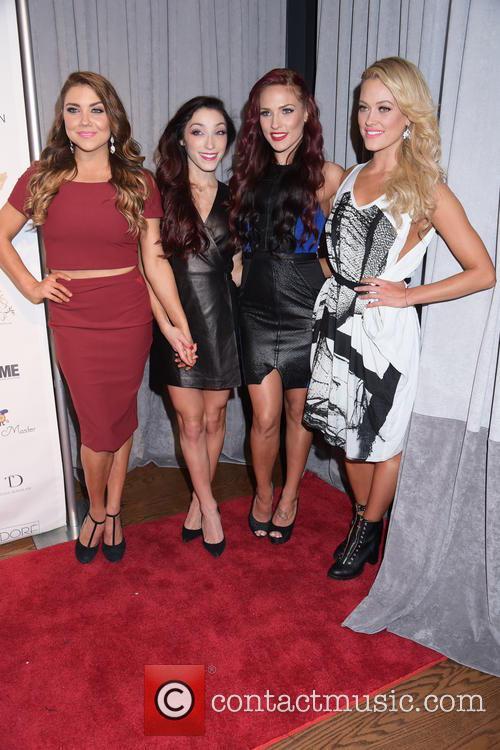 Sharna Burgess, Meryl Davis, Jenna Johnson and Peta Murgatroyd 9