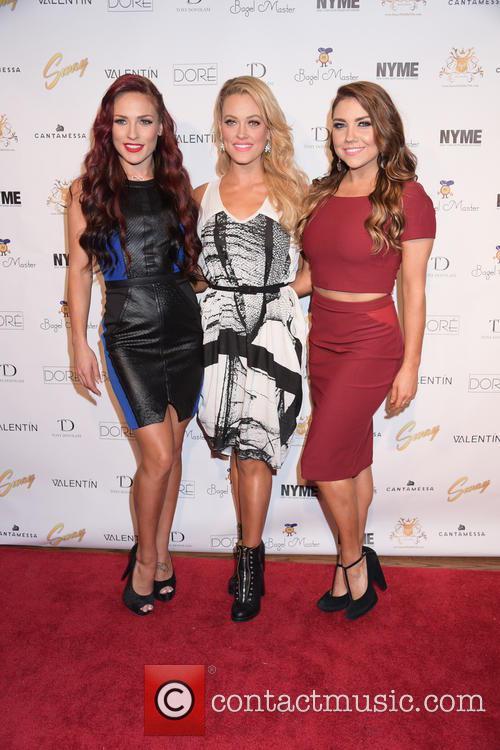 Sharna Burgess, Peta Murgatroyd and Jenna Johnson 3