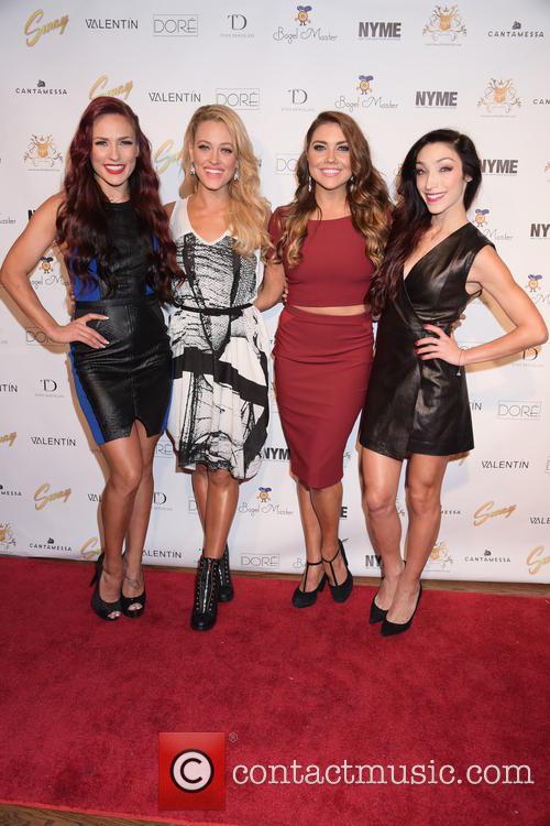 Sharna Burgess, Peta Murgatroyd, Jenna Johnson and Meryl Davis 4