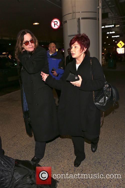 Ozzy Osbourne and Sharon Osbourne 6