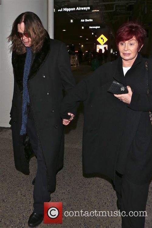 Ozzy Osbourne and Sharon Osbourne 8