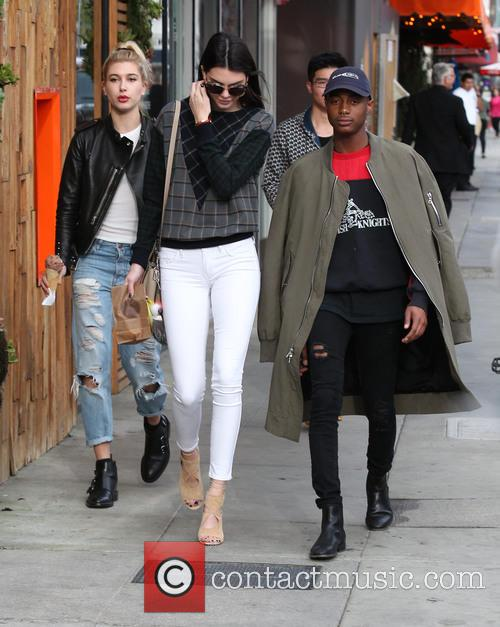 Kendall Jenner, Shamari Maurice and Hailey Baldwin 1