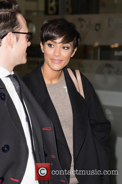 Frankie Sandford, Frankie Bridge and Kevin Clifton 1