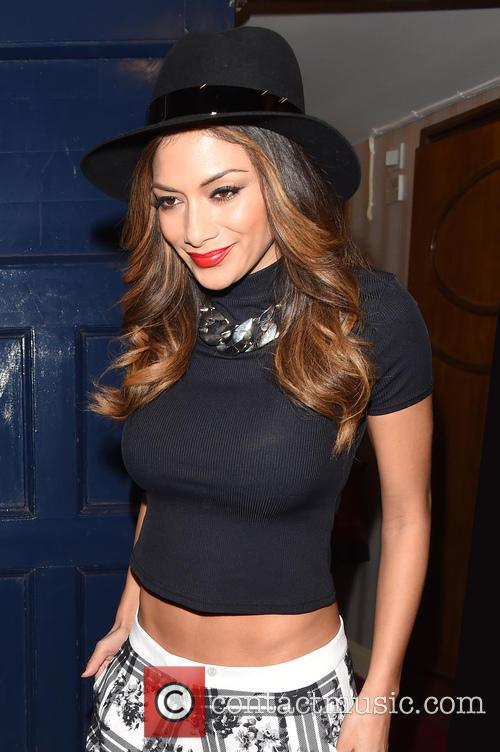 Nicole Scherzinger Leaving The London Pladium