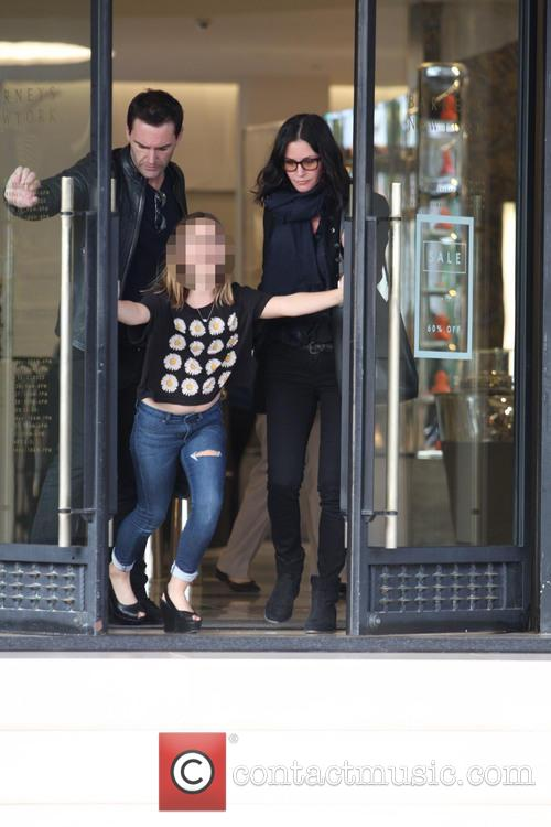 Courteney Cox, Johnny Mcdaid and Coco Arquette 2