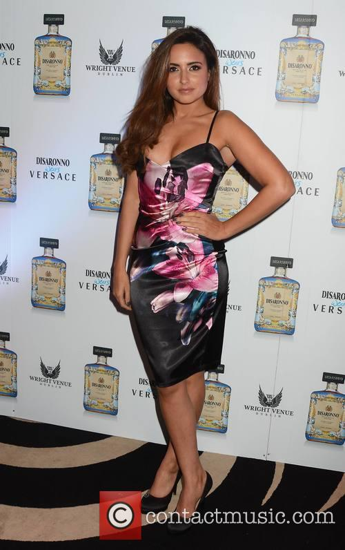 Nadia Forde at the Disaronno wears Versace event...