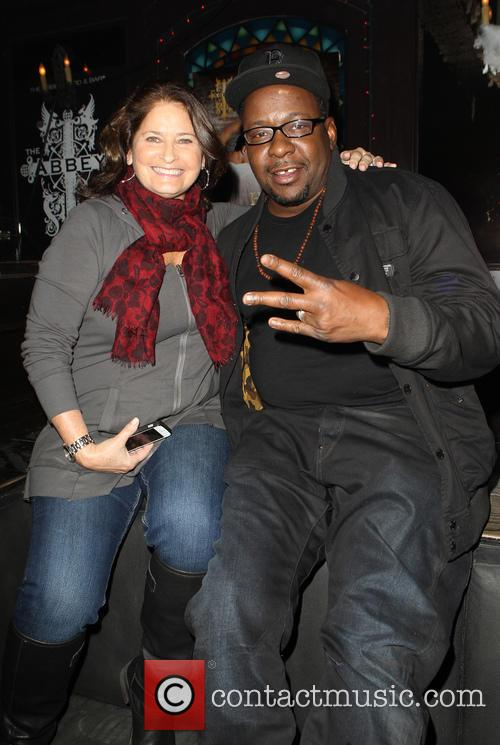Robin Gans and Bobby Brown 3