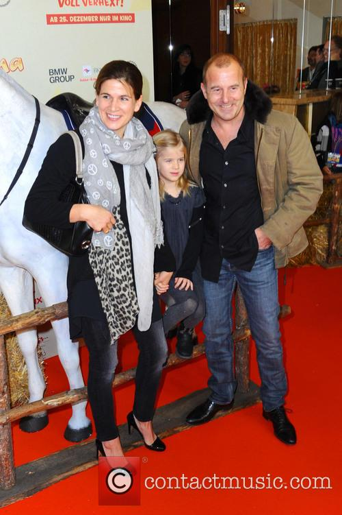 Marie-jeanette Ferch, Daughter Ava and Heino Ferch 4