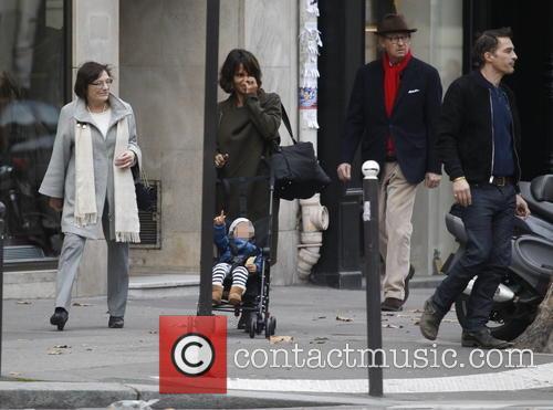Halle Berry, Olivier Martinez and Maceo Martinez 2