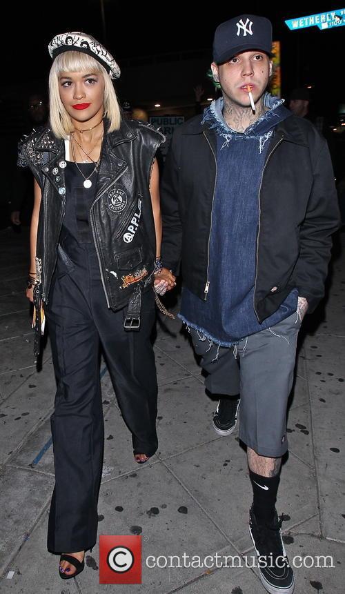 Rita Ora and Ricky Hilfiger 2