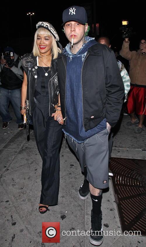 Rita Ora and boyfriend Ricky Hilfiger leave The...