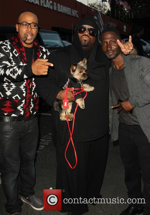 Columbus Short, Cee Lo Green and Guest 3