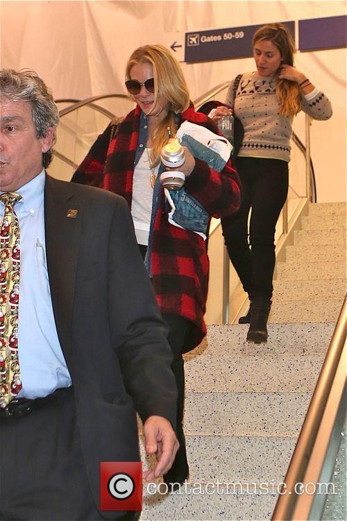 LeAnn Rimes arrives at Los Angeles International Airport