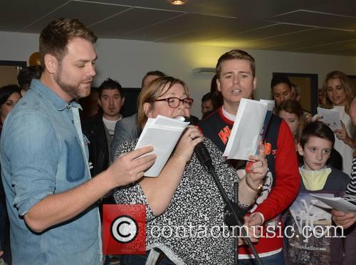 Brian Mcfadden, Mary Byrne and Brian Ormond 3