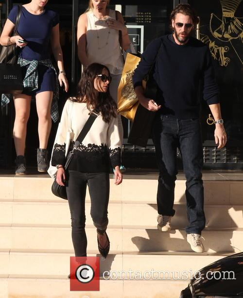 Jordana Brewster and Andrew Form 4