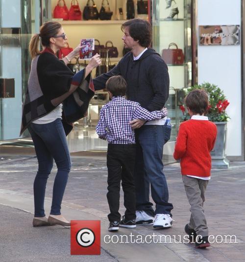 Mark Wahlberg, Rhea Durham, Brendan Wahlberg and Michael Wahlberg 7