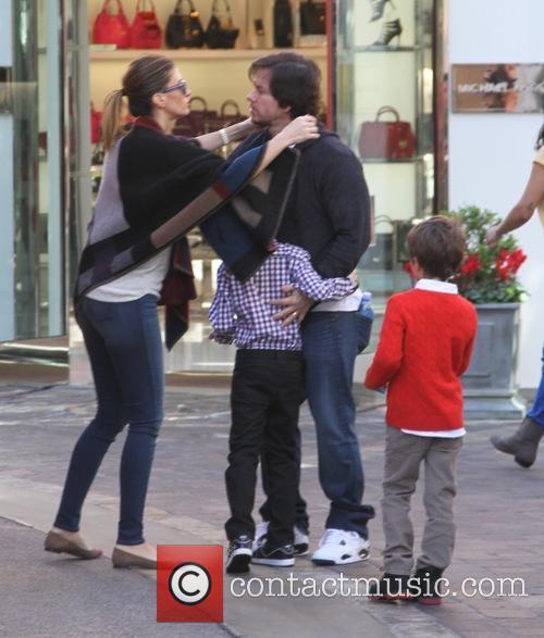 Mark Wahlberg, Rhea Durham, Brendan Wahlberg and Michael Wahlberg 8