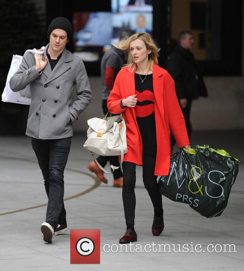 Fearne Cotton  out in London