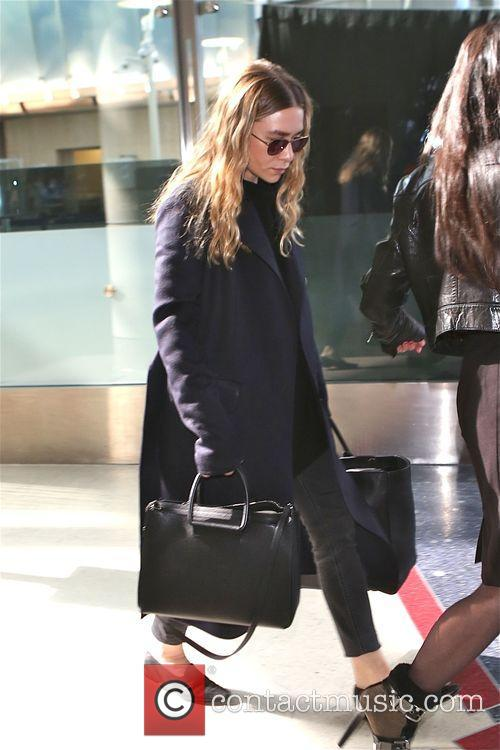 Ashley Olsen at Los Angeles International Airport (LAX)