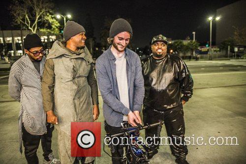 Cavie, Cee Lo Green and Mike Marasco 4
