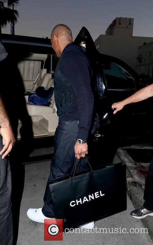 Dr. Dre Christmas shopping at Chanel