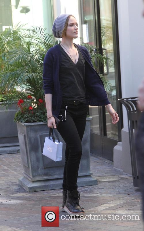 Evan Rachel Wood goes shopping at The Grove