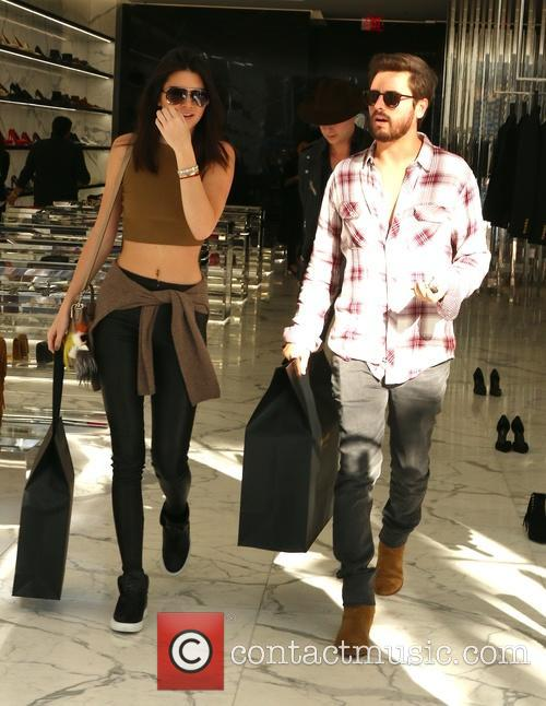 Kendall Jenner and Scott Disick 2