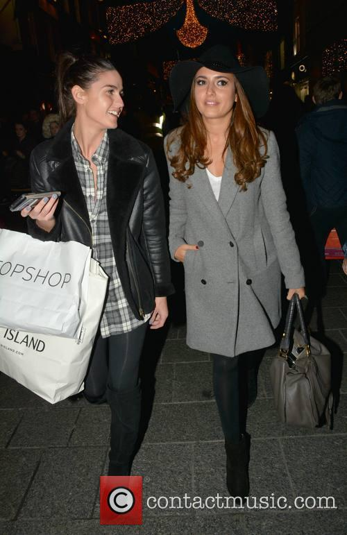 Nadia Forde spotted Christmas shopping