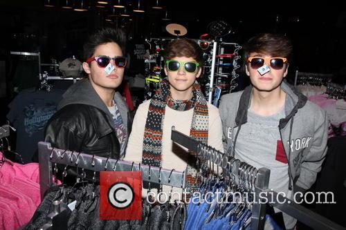 Emery Kelly, Ricky Garcia and Liam Attridge 6