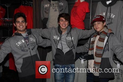 Emery Kelly, Ricky Garcia and Liam Attridge 1