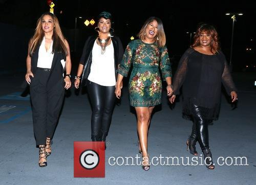 Justice, Sheree Fletcher, April Daniels, Diann Valentine and Sandra Campbell 1