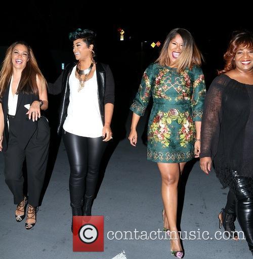 Justice, Sheree Fletcher, April Daniels, Diann Valentine and Sandra Campbell 8