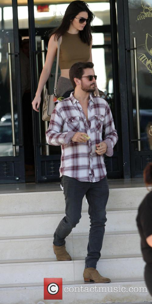 Kendall Jenner and Scott Disick 6