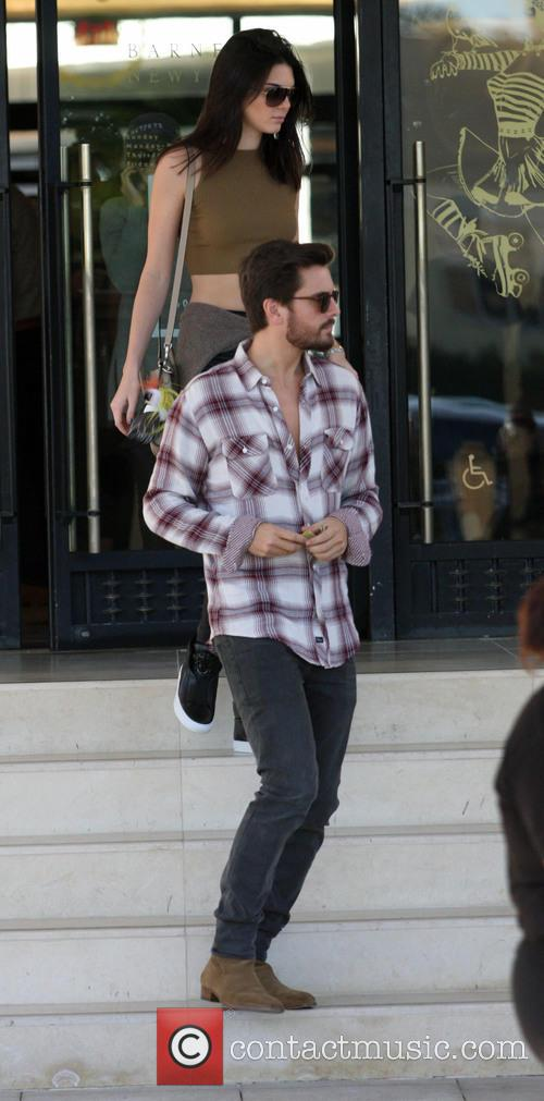 Kendall Jenner and Scott Disick 7