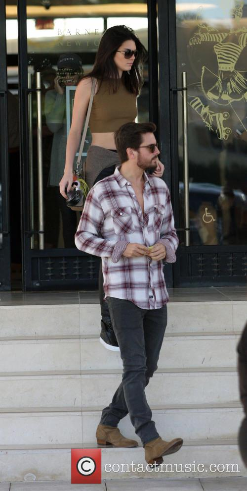 Kendall Jenner and Scott Disick 8
