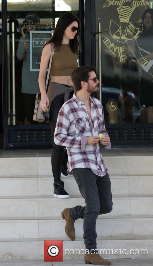Kendall Jenner and Scott Disick 9