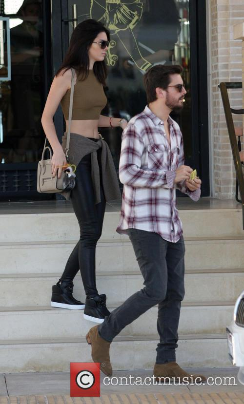 Kendall Jenner and Scott Disick 1
