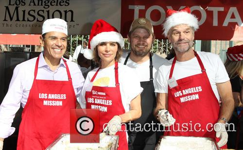 Antonio Villaraigosa, Lisa Rinna, Harry Hamlin and Ben Ford 5