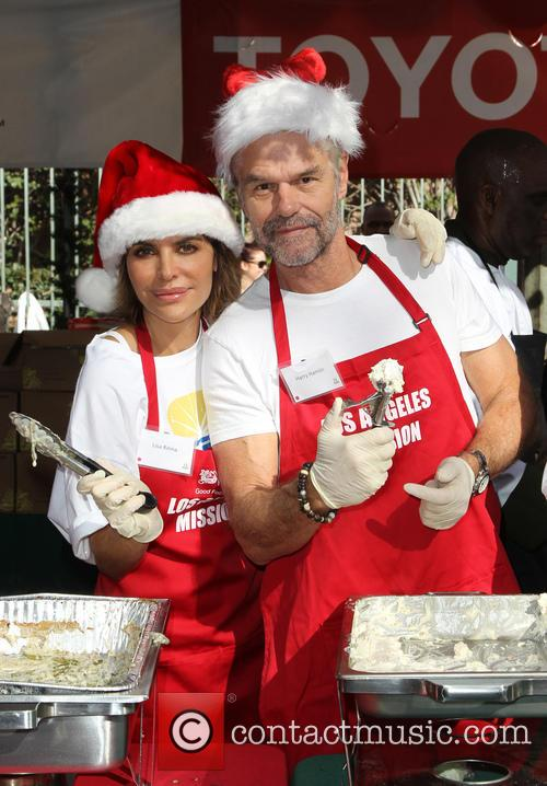 Lisa Rinna and Harry Hamlin 7