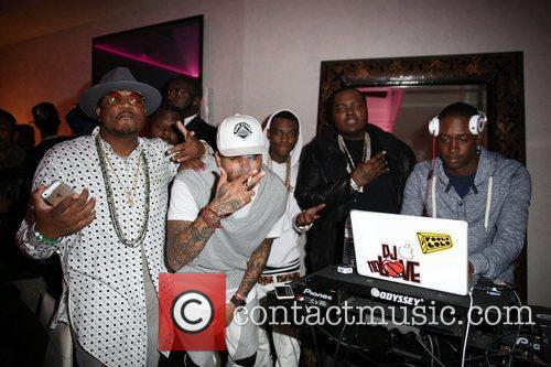Sincere, Soulja Boy, Sean Kingston and Chris Brown 1