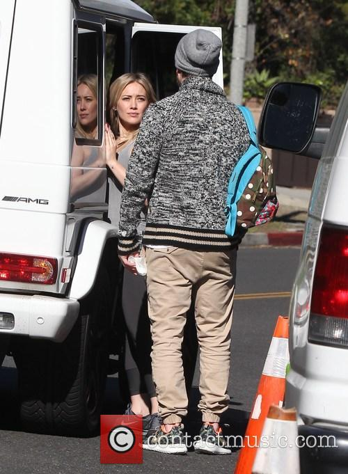 Hilary Duff and Mike Comrie 4