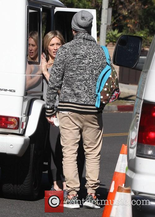 Hilary Duff and Mike Comrie 5