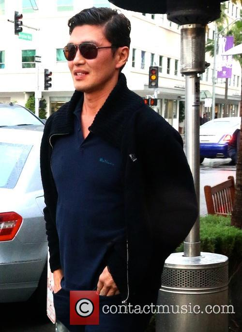 Rick Yune out and about in Beverly Hills