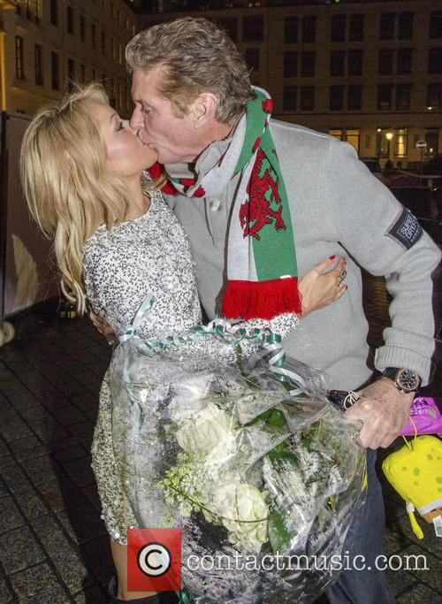 David Hasselhoff and Hayley Roberts 4